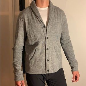 Men's button down sweater